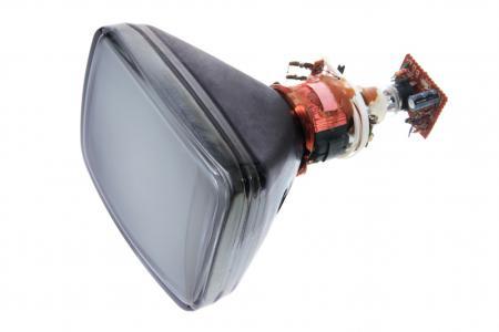 Uppbyggnaden av en tjock-TV med dess katodstrålerör