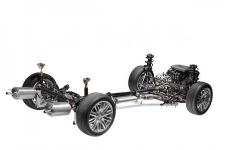 Bild på en bils motorsystem